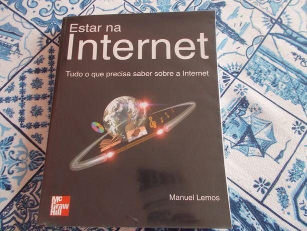 livro Estar na Internet de Manuel Lemos