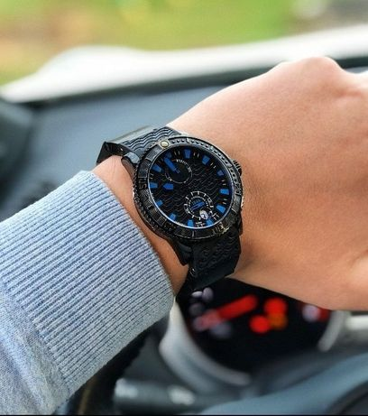 Ulysse Nardin Black sea Automatic blue мужские наручные часы премиум