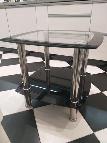 Szklany stolik, ława