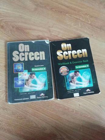 Język angielski Podręcznik i ćwiczeniowka On screen Express Publishing