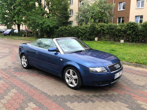 Audi A4 B6 Cabrio 1.8T, 2004r. , 134tyś, ANGLIK