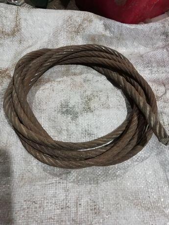 Стальний трос 0.12мм б/у