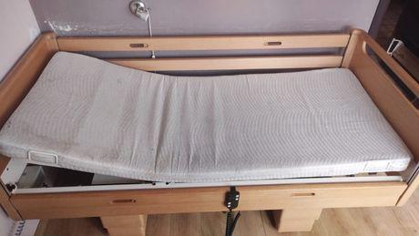 Łóżko rehabilitacyjne sterowane pilotem