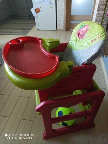 Krzesełko fotelik do karmienia 3 w1