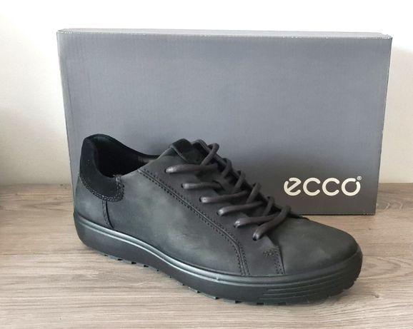nowe oryginalne skórzane buty męskie ECCO Soft rozmiar 44
