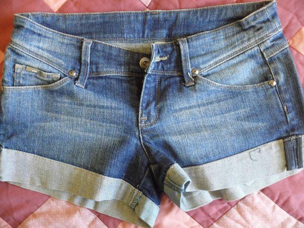 Джинсовые шорты (Манго)