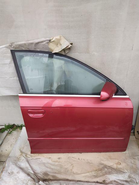Drzwi prawy przód prawe przednie Audi A4 B7 LZ3F igła kompletne