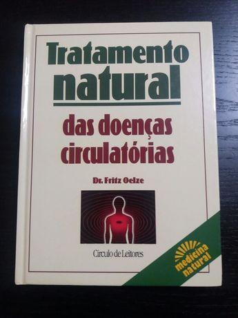 Livro: Tratamento natural das doenças circulatórias de Dr. Fritz Oelze