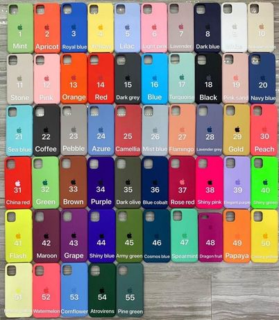 Чехол Iphone Silicone Case SE/6/8 Plus/X/XS/XR,11 Pro/Max/12 чехлы опт