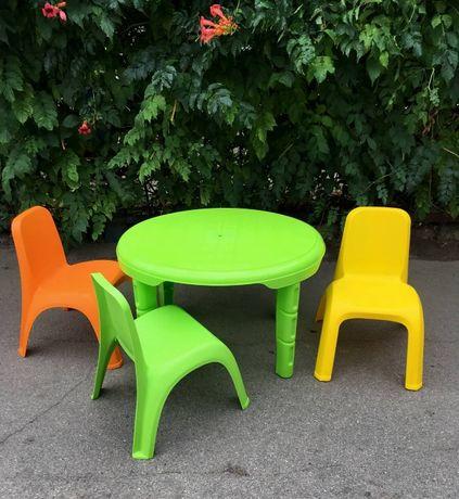 стол детский со стульчиками
