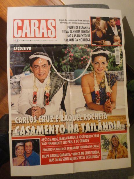 Poster Gigante Capa Revista Caras Nº316 1 Setembro 2001