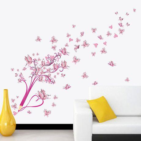 Наклейка интерьерная Бабочки