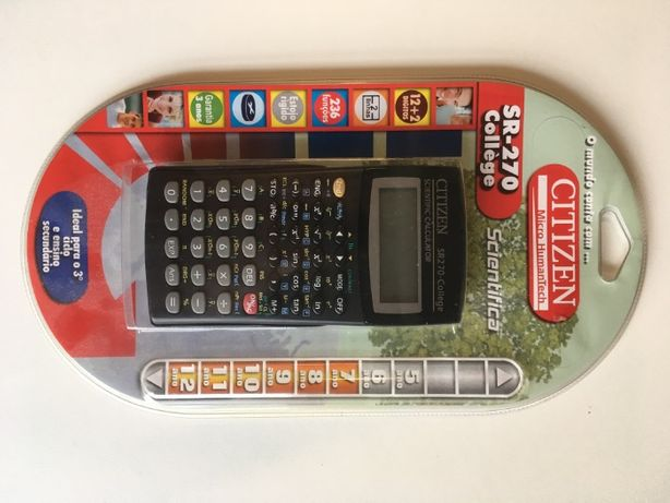 Calculadora cientifica SR-270