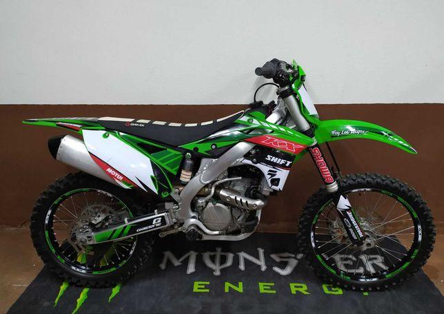 продам мотоцикл кросс Kawasaki kx 250 f 2016 (honda suzuki ktm yamaha)