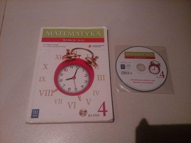 Książka Matematyka wokół nas kl 4 z ćwiczeniami