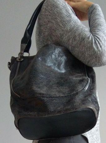 Torebka damska torba na ramię mieści A4