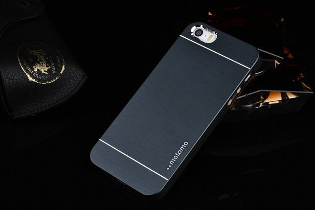 R139 Capa Luxury Aluminum Blue iPhone 4 4s + Película 24h