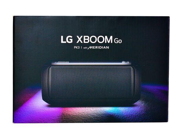 Głośnik przenośny LG XBOOM Go PK3 16W Bluetooth; 25 miesięcy gwarancji