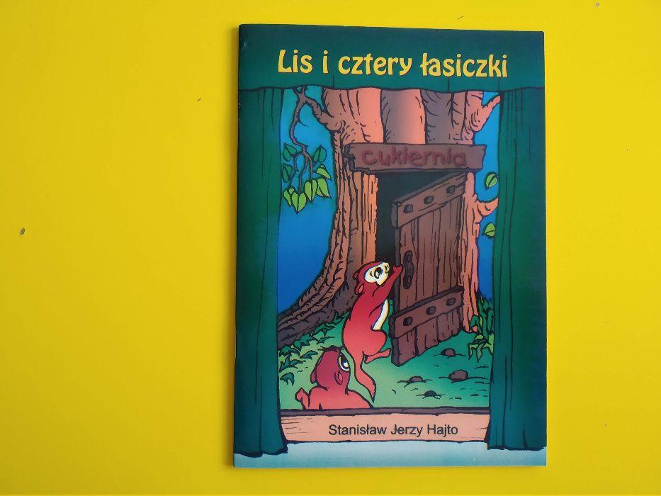 Lis i cztery łasiczki - książeczka dla dzieci Gliwice - image 1