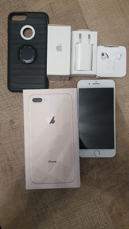 Iphone 8 Plus Idealny Nowe Akcesoria Rose Gold