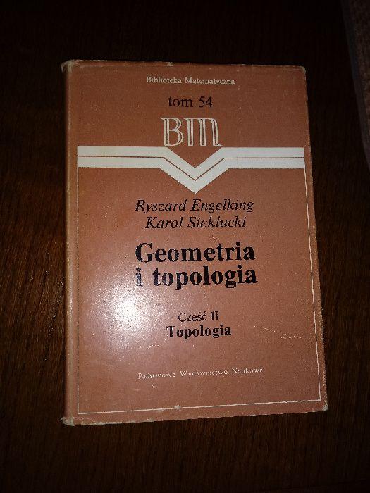 Geometria i topologia cz.2 Topologia R. Engelking i K. Sieklucki Rawicz - image 1