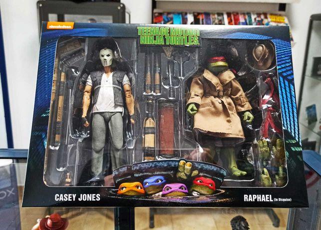 Pack Tartarugas Ninja - Casey Jones & Raphael