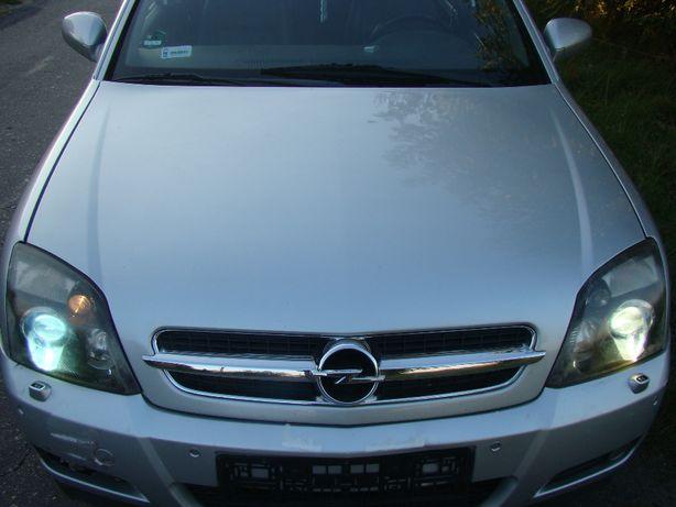 Opel Vectra C Signum maska przód przednia Z157 stebrna