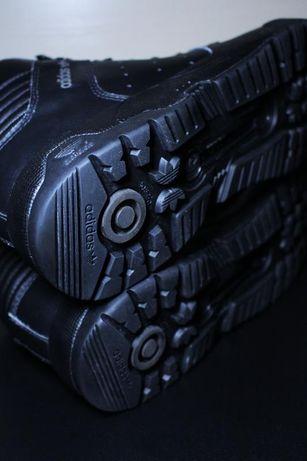 Оригинал adidas uptown td ботинки осень зима , Чёрный ,Размер 48