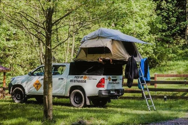Wypożyczalnia samochodów terenowych, kamper,namiot dachowy, camper