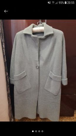 Пальто кардиган альпака