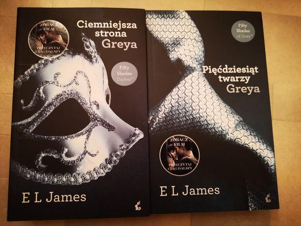 Zestaw książek greya