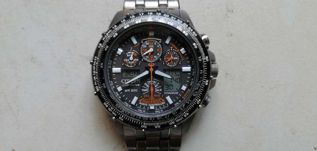 CITIZEN - skyhawk - tytan - zegarek