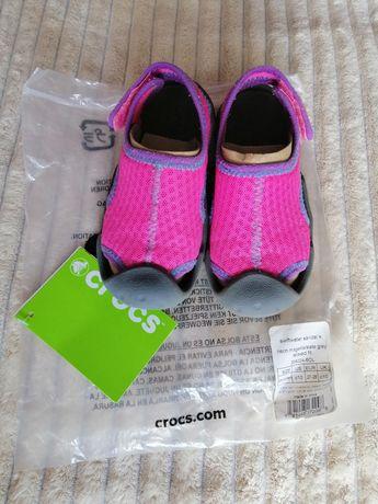 Сандалии сандали босоножки кроксы крокс Crocs C10, 16.5 см
