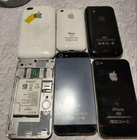 Продам iPhone 5 штук под восстановление или как доноры.