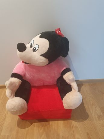 Pufa krzesło fotel łóżko siedzisko Minnie rozkładany