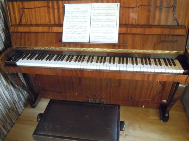 Pianino, Klawesyn