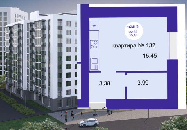 Смарт-квартира  22,82 м2 от застройщика,без комиссии