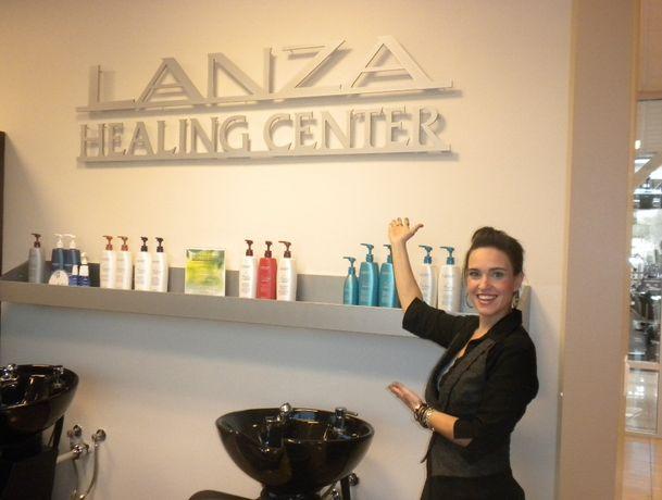ЛЕЧЕНИЕ (не! выпрямление) КЕРАТИНовое восстановление волос LANZA (USA)