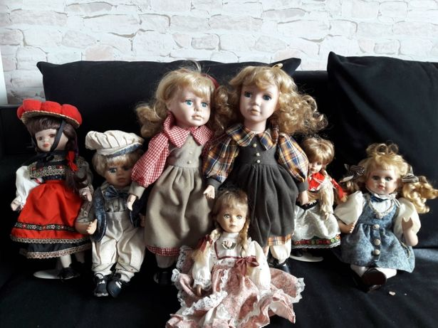 Stare lalki porcelanowe