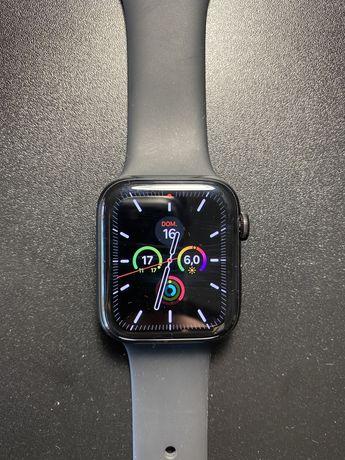 Apple Watch series 4 tele+gps em aço inox preto