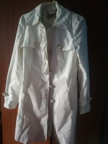 Giacomo the jacket biało-szary płaszcz