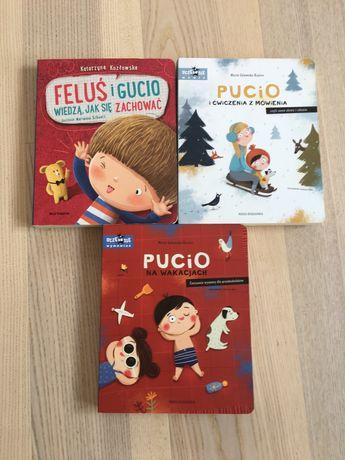 Książki Pucio i Feluś i Gucio