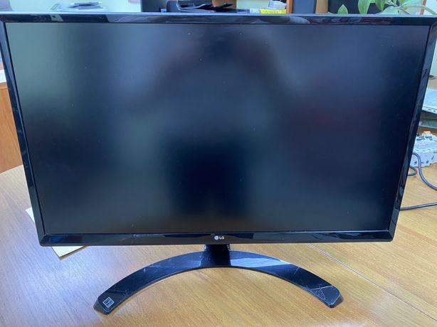 """Продам монитор 24"""" LG-24UD58-B, с разрешением 4К"""