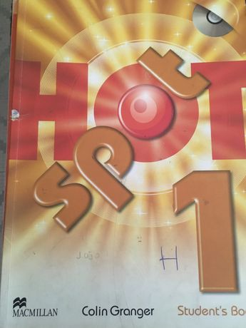Hot Spot 1 livro ingles