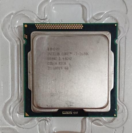 Процесор I7 2600K Топ своего времени!
