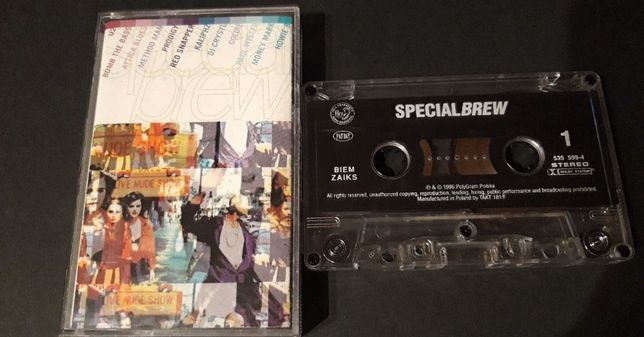 Special Brew 1996 KASETA MAGNETOFONOWA ,U2,Bjork,Prodigy,Massive Attac
