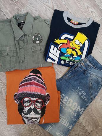 Набор одежды 4шт, на мальчика подростка 146-152 см