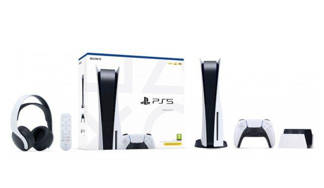 PS5 Standard + PACK MULTIMEDIA PLAYSTATION NOVO