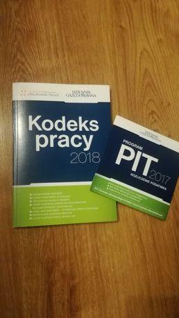 Kodeks pracy 2018 + program PIT 2017 - Nowe