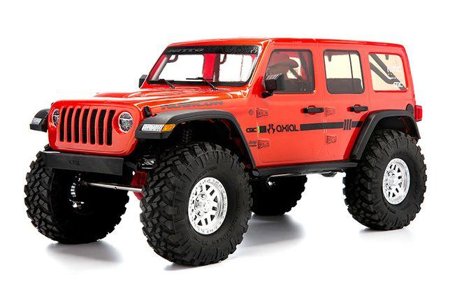 Axial Jeep Wrangler Rubicon SCX10 III model RC RTR LEDy